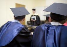 教育结束 免版税库存图片