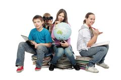 教育透视图 免版税图库摄影