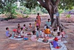 教育释放印度 免版税库存照片