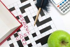 教育预算 免版税图库摄影