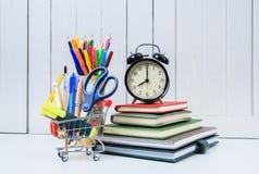 教育,回到学校,购物 库存照片