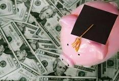教育费用概念 库存图片