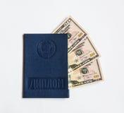 教育& x28证明; diploma& x29; 被投资的三denominat 库存照片