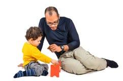 教诲儿童疗法 免版税库存照片