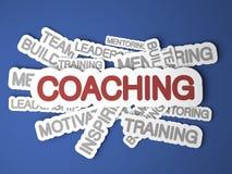 教练概念。 库存图片