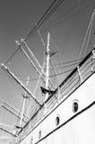 教练船Gorch Fock 免版税库存图片