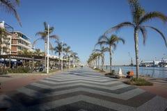 散步在甘迪亚,西班牙 库存照片