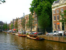 散步在阿姆斯特丹 免版税库存图片