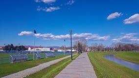散步在Pozega 免版税图库摄影