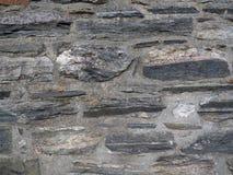 散石和灰浆背景 免版税图库摄影