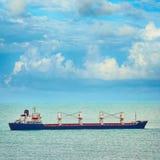 散装货轮船 图库摄影