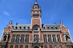敦刻尔克,法国城镇厅  免版税库存照片