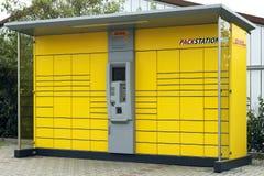 敦豪航空货运公司Packstation 免版税库存图片