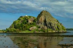 敦巴顿橡树园城堡 免版税图库摄影