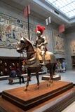 敬佩骑士、城堡和国王汇集,克利夫兰美术馆,俄亥俄的人们, 2016年 图库摄影