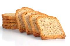 敬酒的面包 免版税库存照片
