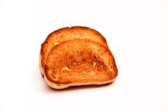敬酒的面包 免版税库存图片