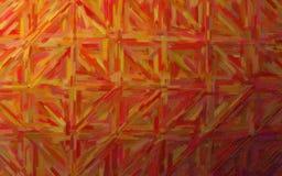 数位引起的棕色大颜色变异油画背景的抽象例证 免版税库存照片