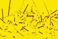 数位被操作的金子chlor五颜六色的抽象微写器  免版税库存照片