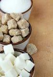 数加糖类型 库存图片