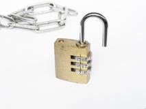 数字号码锁 库存图片
