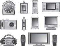 数字式产品 免版税库存照片