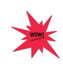 数字式例证多对象针对性的红色字 库存照片