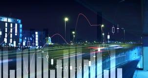 数字式各种各样的财政图4k引起的录影  影视素材