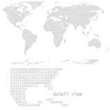 数字式向量世界 图库摄影