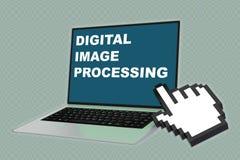 数字式图象处理概念 库存图片