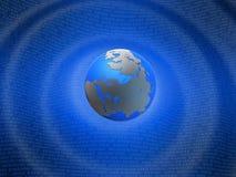 数字式地球 库存图片