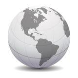 数字式地球 免版税库存照片
