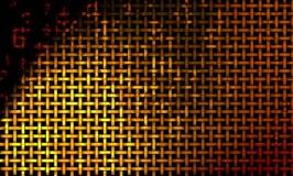 数字式墙壁柳条 免版税库存照片