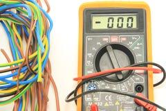 数字式多用电表 免版税图库摄影