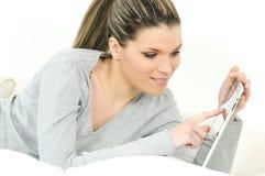 数字式妇女 免版税库存照片