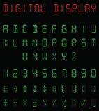 数字式字母表 免版税库存照片