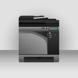 数字式彩色打印机 库存照片