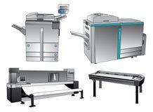 数字式打印设备 库存照片