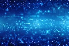 数字式抽象技术背景,网络空间背景,未来派背景 库存图片
