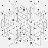 数字式抽象背景 免版税库存照片