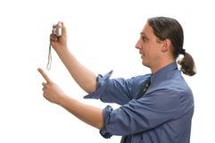 数字式拍摄 免版税库存图片