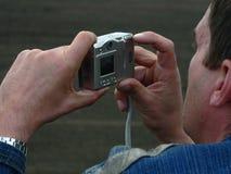 数字式摄影师 图库摄影