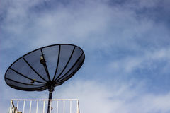 数字式数字式电视的铁丝网 库存照片