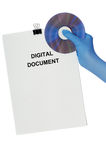数字式文件 免版税图库摄影