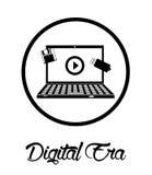 数字式时代技术 免版税库存照片