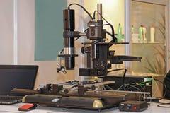 数字式显微镜 免版税库存照片