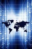 数字式梦想世界 免版税库存图片