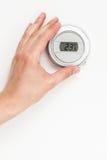 数字式气候温箱 免版税库存图片
