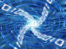 数字式漩涡 图库摄影