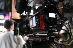 数字式照相机戏院 免版税库存图片